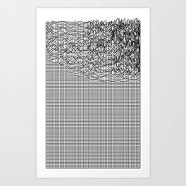 Warp (series) Art Print