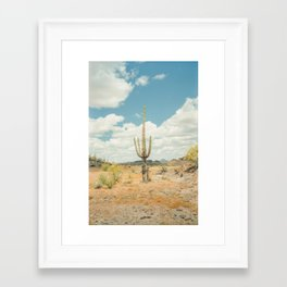 Old West Arizona Framed Art Print