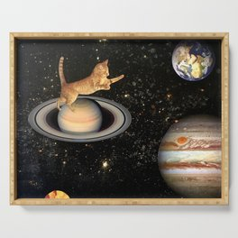 Cat.In.Space. Serving Tray