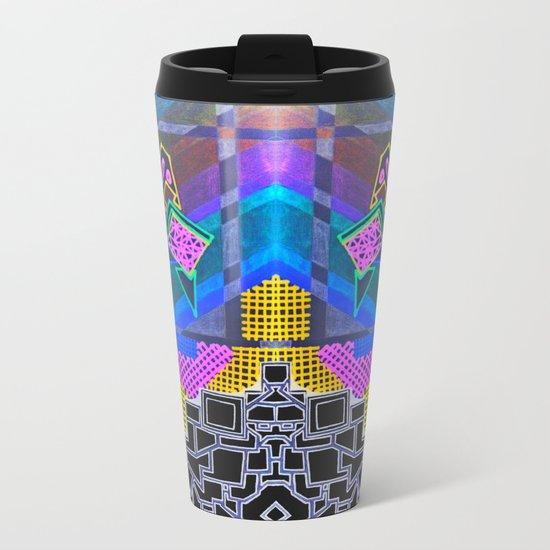 Abstract 2B Metal Travel Mug