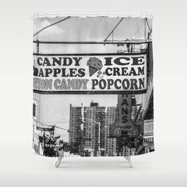 Coney Island Vintage Shower Curtain