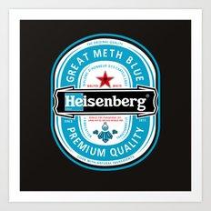 Heisenbeer Art Print
