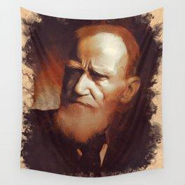 George Bernard Shaw, Playwright Wall Tapestry