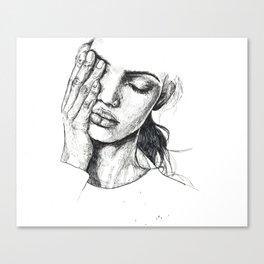 s k e t c h Canvas Print