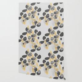 Retro Petals Wallpaper
