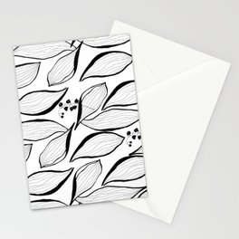 lilies of the valley Stationery Cards
