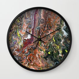 Fluidity IV Wall Clock