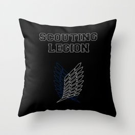 Scouting Legion Throw Pillow