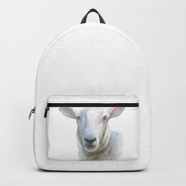Watercolor Sheep Backpack