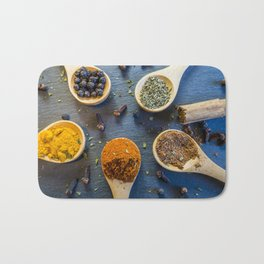 Herb and Spices. Bath Mat