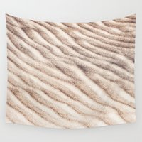 sand Wall Tapestries featuring Sand by emmacanfield