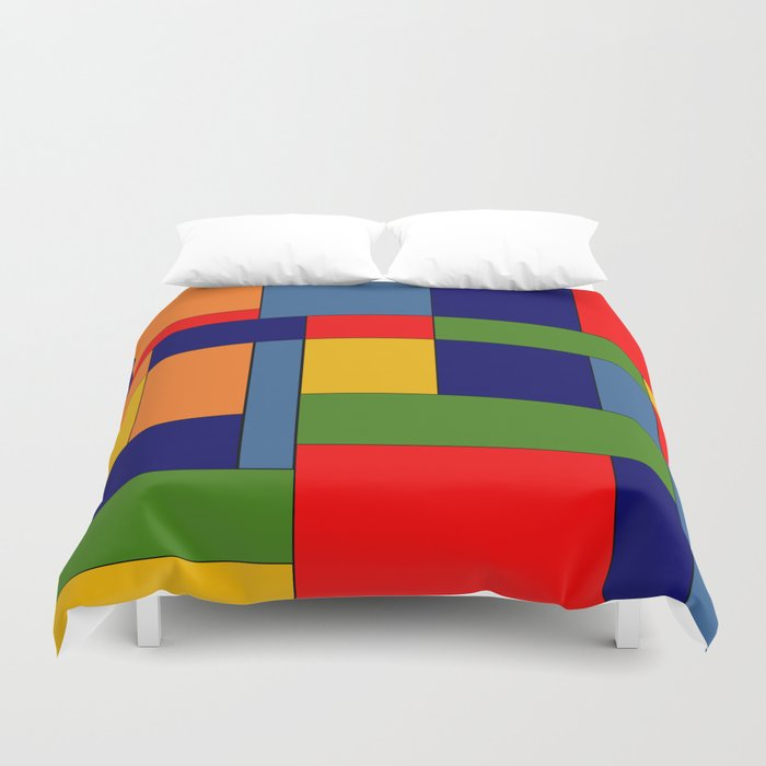 Abstract #348 Duvet Cover