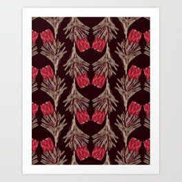 PROTEA IN VINO Art Print