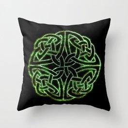 Celtic Glow Throw Pillow