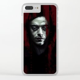 Mr. Robot Clear iPhone Case