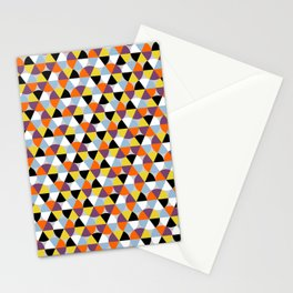 Multicolor circles pattern Stationery Cards