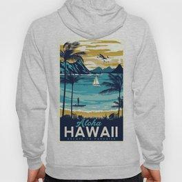 Vintage poster - Hawaii Hoody