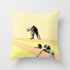 Mountaineers Throw Pillow