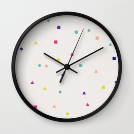 Confetti Wall Clock