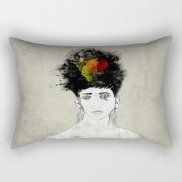 I'm not what you see Rectangular Pillow