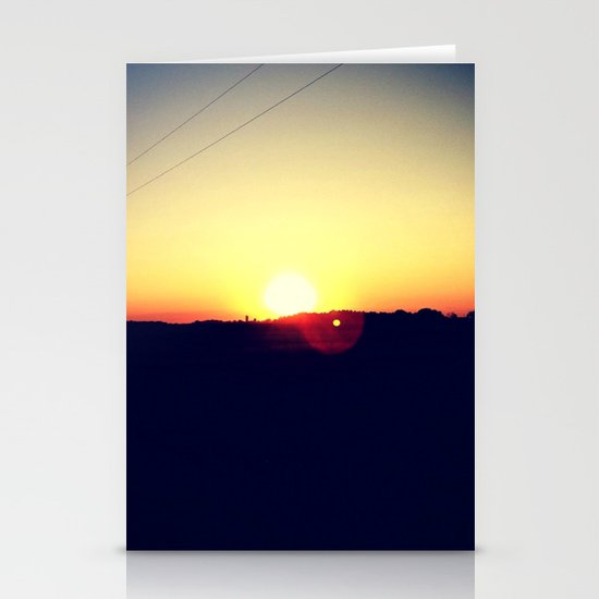 Summer Sets Stationery Cards