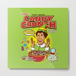 Buddy's Candy Crunch Metal Print