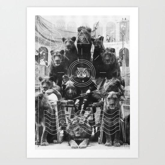 L'octole XIV Art Print