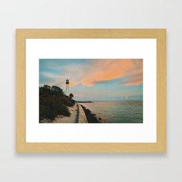 Key Biscayne Framed Art Print