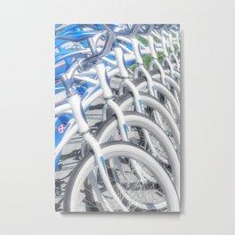 """Resort Bikes"" by Murray Bolesta Metal Print"