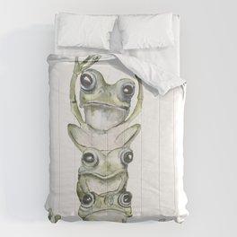 Frog life Comforters