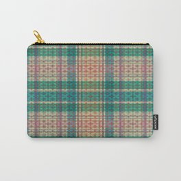 Mild Autumn Plaid Carry-All Pouch