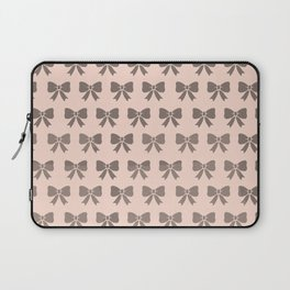 Dotty Bows  Laptop Sleeve