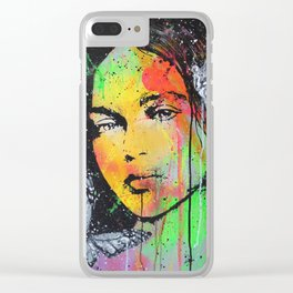 You Give me Butterflies Clear iPhone Case