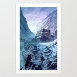 Refuge? Art Print