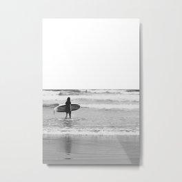 Berrys Surfer Metal Print
