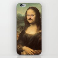swanson iPhone & iPod Skins featuring Mona Swanson by RAOqwerty