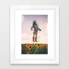 The Plain Traveller Framed Art Print