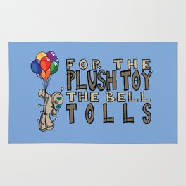 for the plush toy the bell tolls Rug