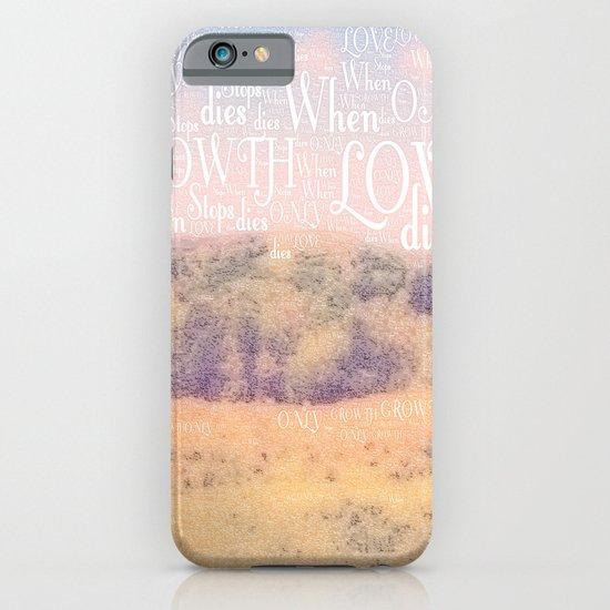 Love Dies  iPhone & iPod Case