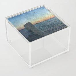Oswego sunrise Acrylic Box