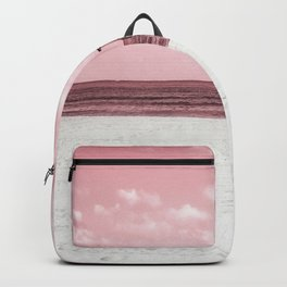 In The Pink Beach Backpack