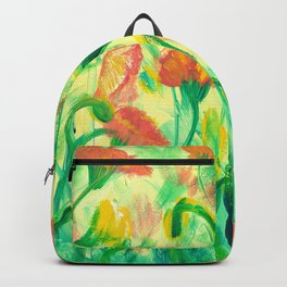 Sun drenched Poppies Backpack