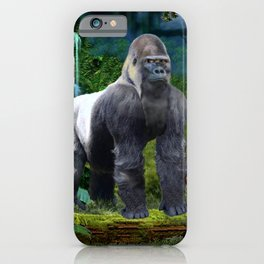 Silverback Gorilla Guardian of the Rainforest iPhone Case