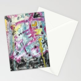 Abstract Art - Moving Stationery Cards