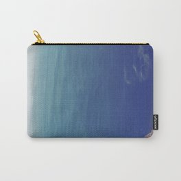 Sea green, ocean blue Carry-All Pouch