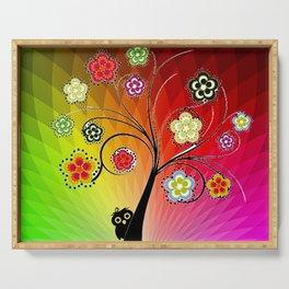 Healing Chakra Tree Serving Tray