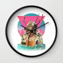 Summer Mood Wall Clock