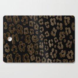 Dark Leopard Cutting Board