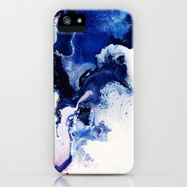 Riveting Abstract Watercolor Painting iPhone Case