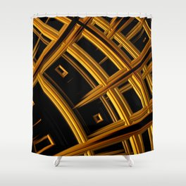 In the House of Coeus Shower Curtain